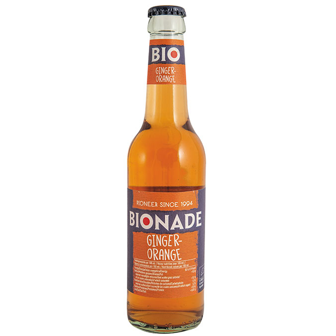 BIONADE ORANGE GINGEMBRE 33CL AB