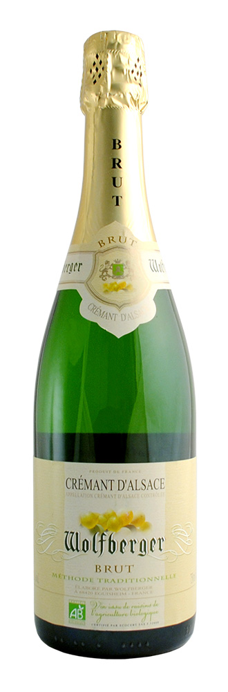 VIN CREMANT ALSACE WOLFBERGER 75CL AB