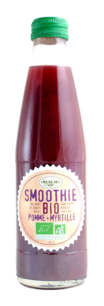 SMOOTHIES POMME MYRTILLE 25CL AB