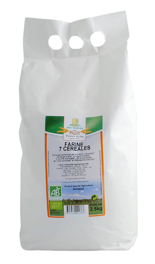 FARINE 7 CEREALES 2.5KG AB
