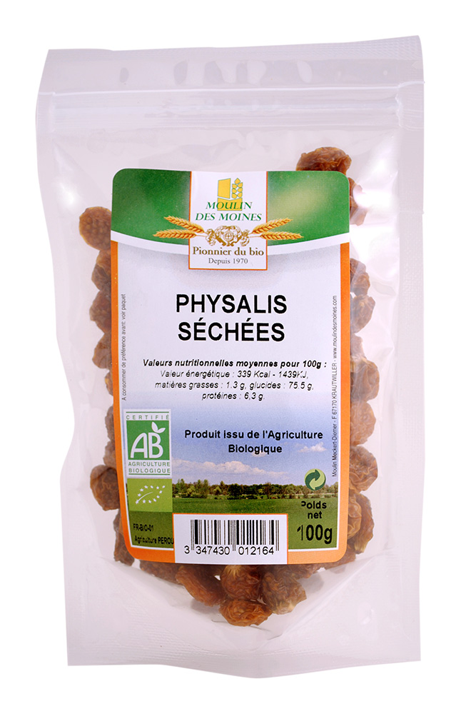 PHYSALIS SECHEES 100G AB