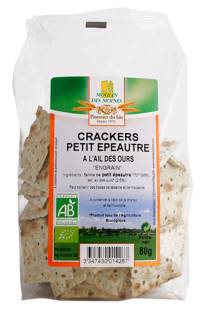 CRACKER PEP AIL DES OURS 80G AB