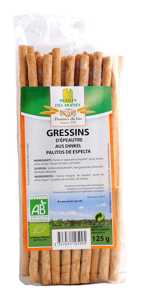 GRESSINS EPEAUTRE 125G AB