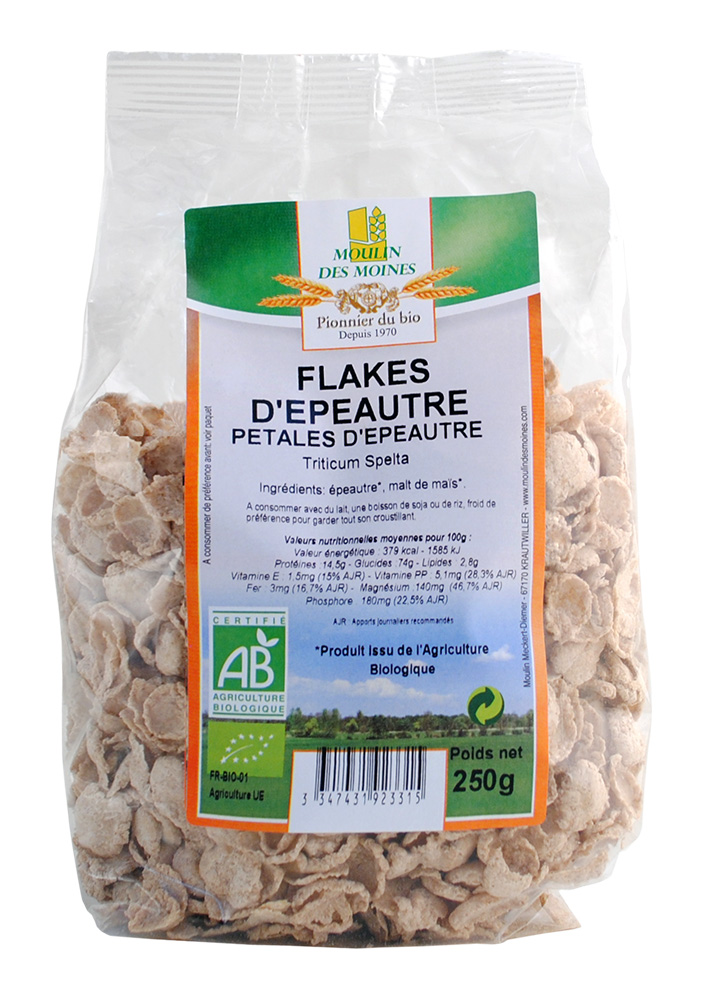 FLAKES EPEAUTRE 250G AB