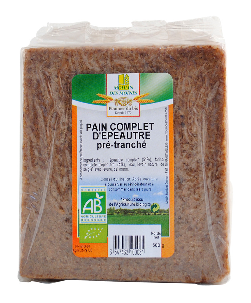 PAIN COMPLET EPEAUTRE 500G AB