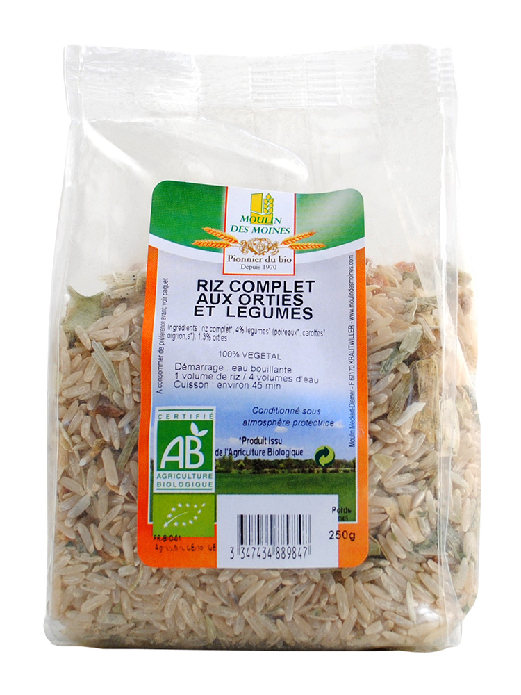 RISOTTO ORTIE LEGUMES 250G AB