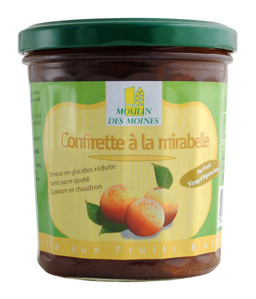 CONFIRETTE MIRABELLE SIROP AGAVE 330G AB