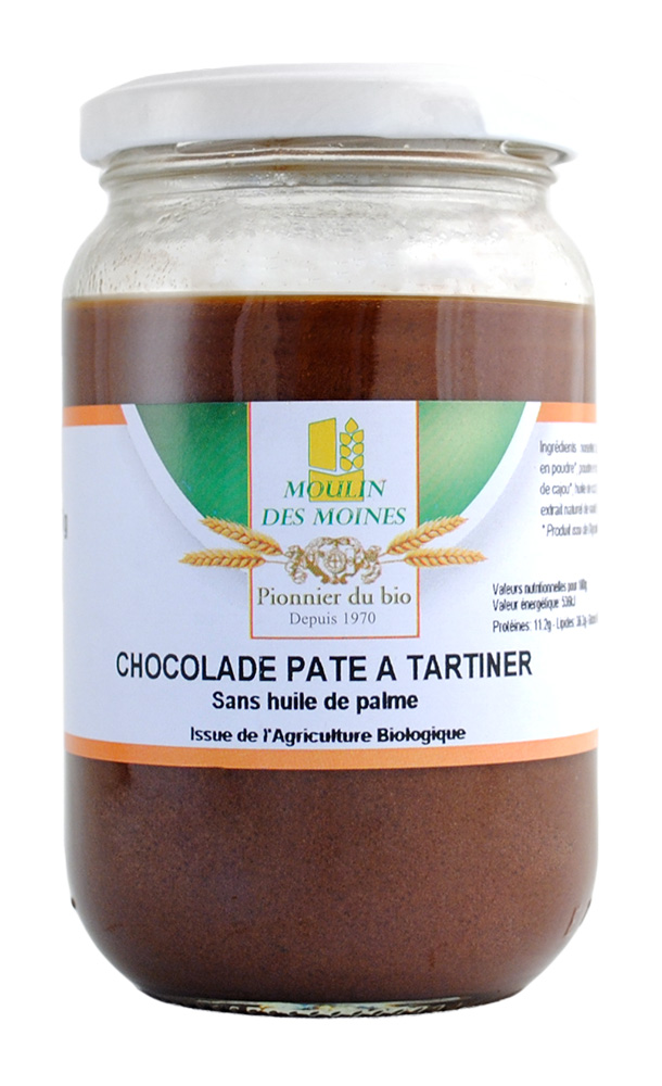 PATE A TARTINER NOISETTES CHOCOLAT 350G AB