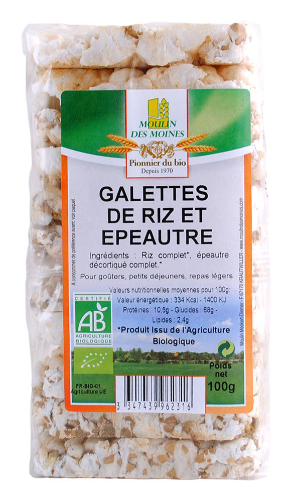 GALETTES RIZ EPEAUTRE 100G AB