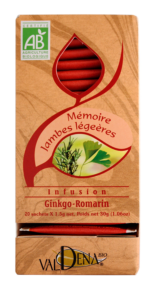 INFUSION GINKGO ROMARIN N?4 AB