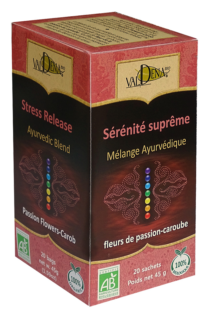 Infusion ayur serenite fle par car 45g bio